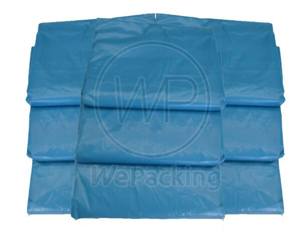 ถุงขยะสีฟ้า