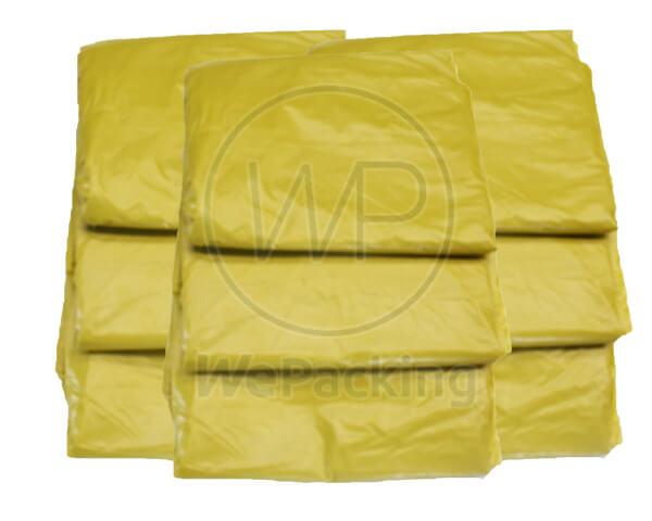 ถุงขยะสีเหลือง